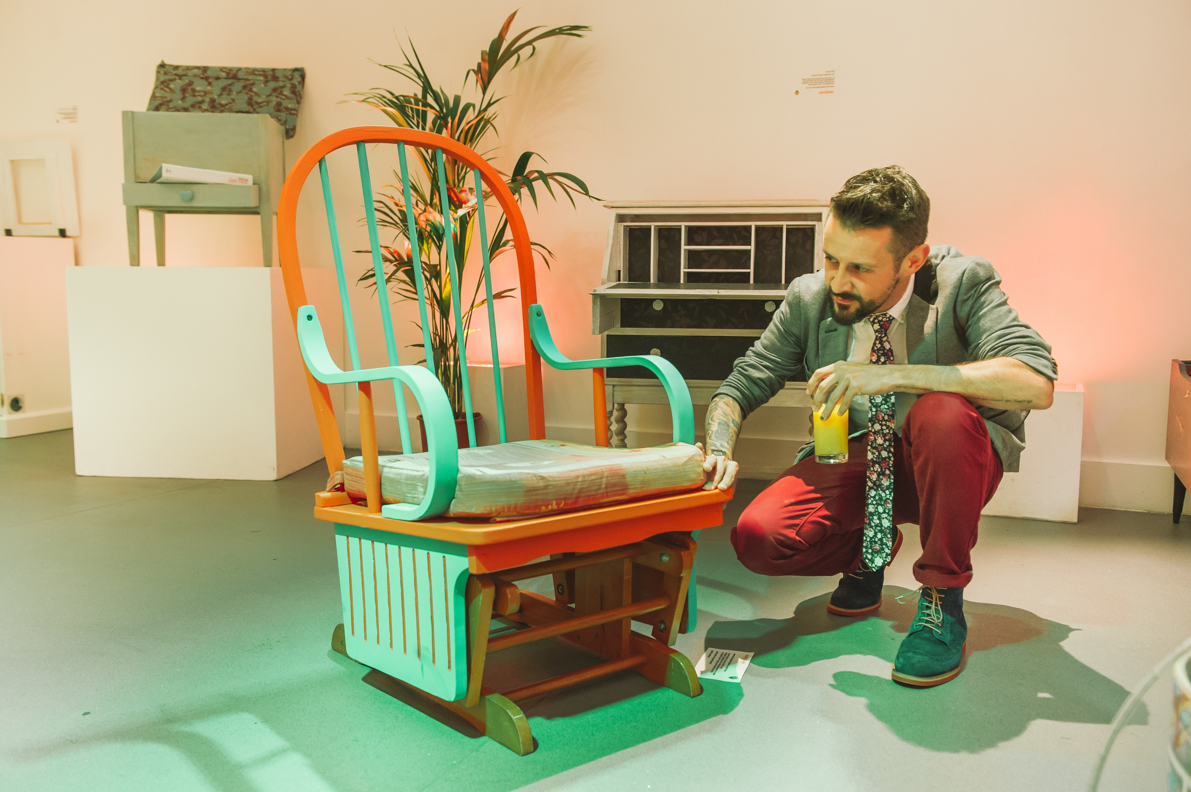 Upcycled Rocking Chairs With Well Liked From Door To Dining Table: Britain Is Embracing The Upcycling (View 16 of 20)
