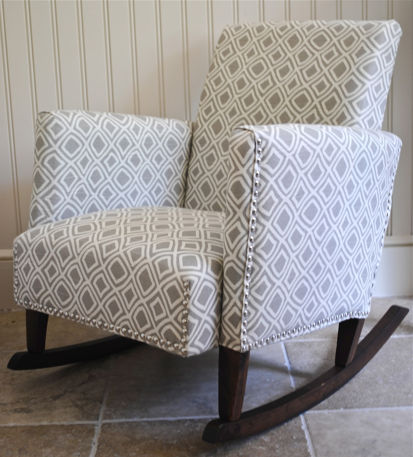 Upholstered Rocking Chairs Within 2019 Diy}Ish Upholstered Child's Rocking Chair – The Chronicles Of Home (Gallery 2 of 20)