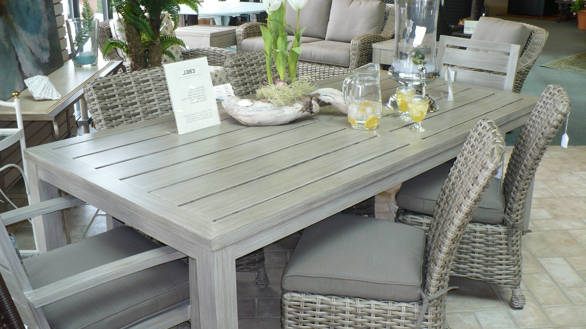 Urgent Gray Wicker Outdoor Furniture New Patio Scheme Hello With Regard To Fashionable Gray Patio Conversation Sets (View 6 of 20)