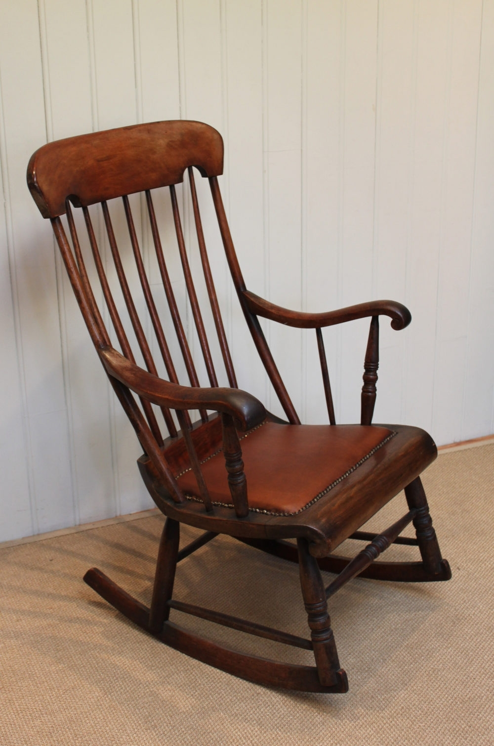 Victorian Fruitwood Rocking Chair – Antiques Atlas Regarding Latest Victorian Rocking Chairs (Gallery 11 of 20)