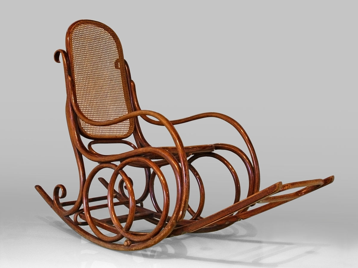 Vintage Wicker Rocking Chairs Within 2019 Rocking Chair – Wikipedia (Gallery 15 of 20)