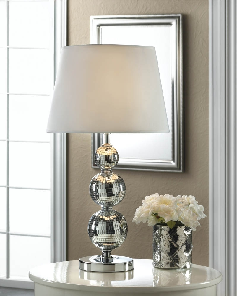 Walmart Living Room Table Lamps Within Popular Lamp : Living Room Table Lamps Modern Chic Glass Silverside Lamp (View 20 of 20)