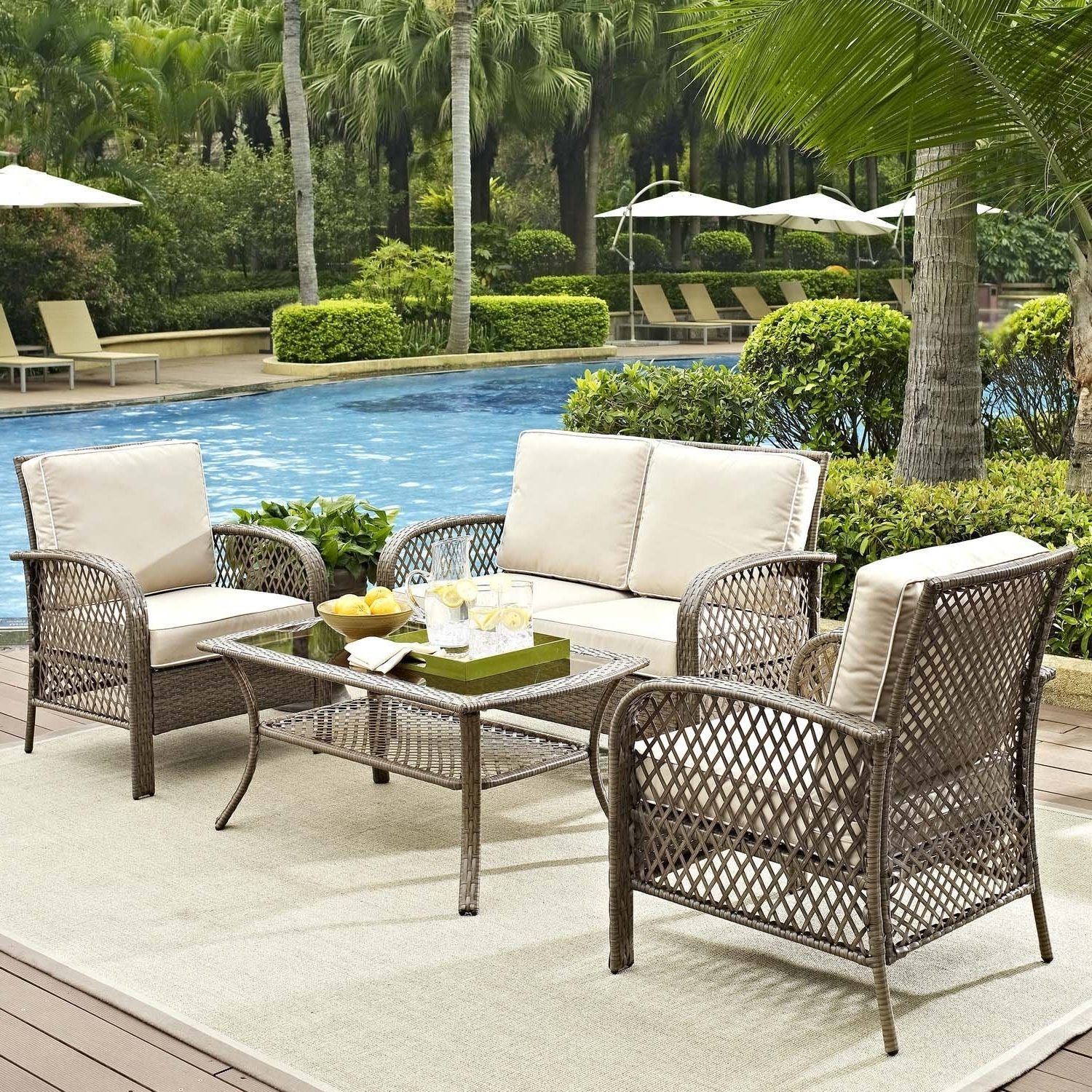 Wayfair Outdoor Patio Conversation Sets For Fashionable Breathtaking Wayfair Patio Furniture Sets Gallery Best Image From (View 2 of 20)
