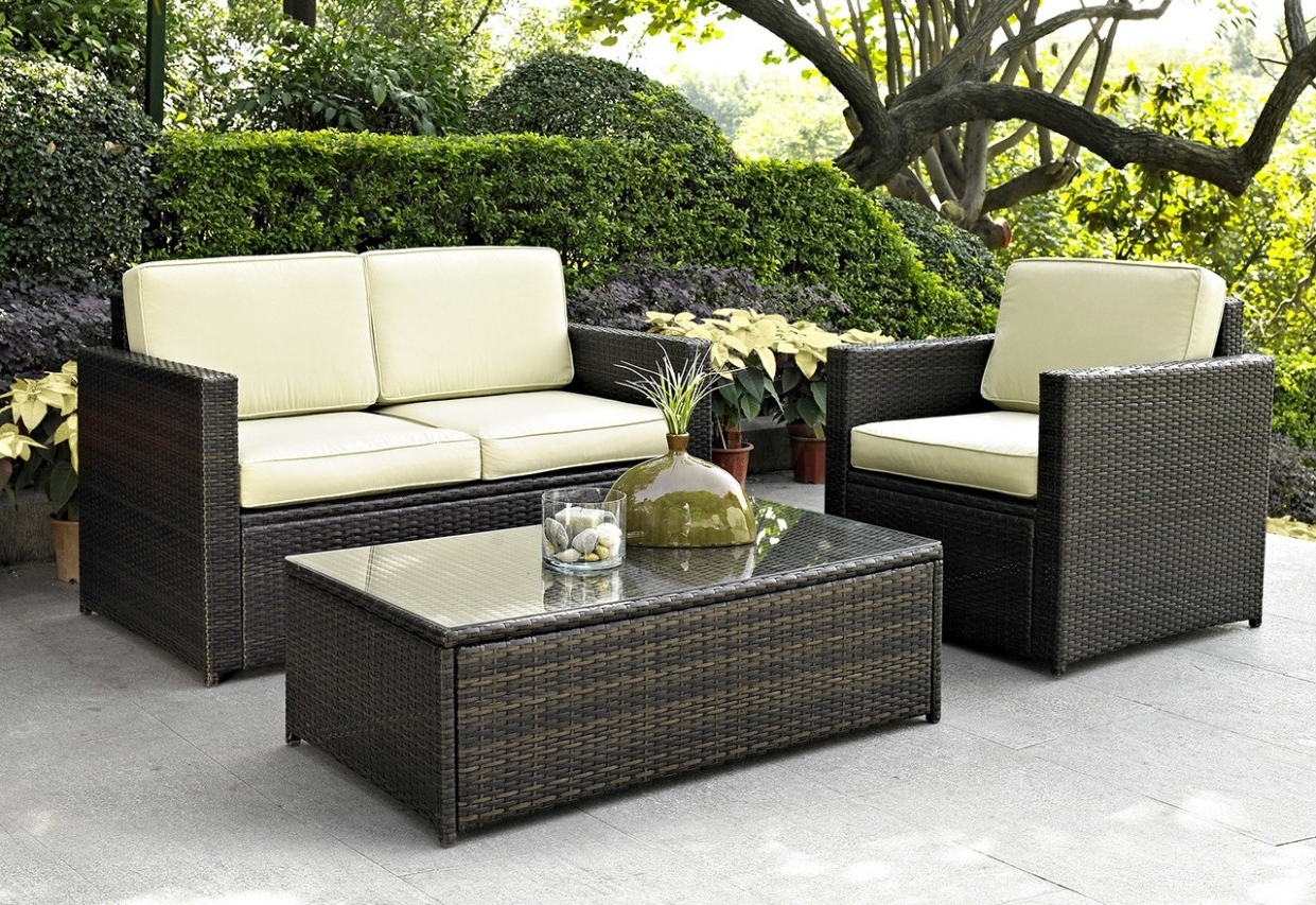 Wayfair Outdoor Patio Conversation Sets Inside Well Known Impressive Patio Table Sets Beautiful Amazing Costco Furniture (View 16 of 20)