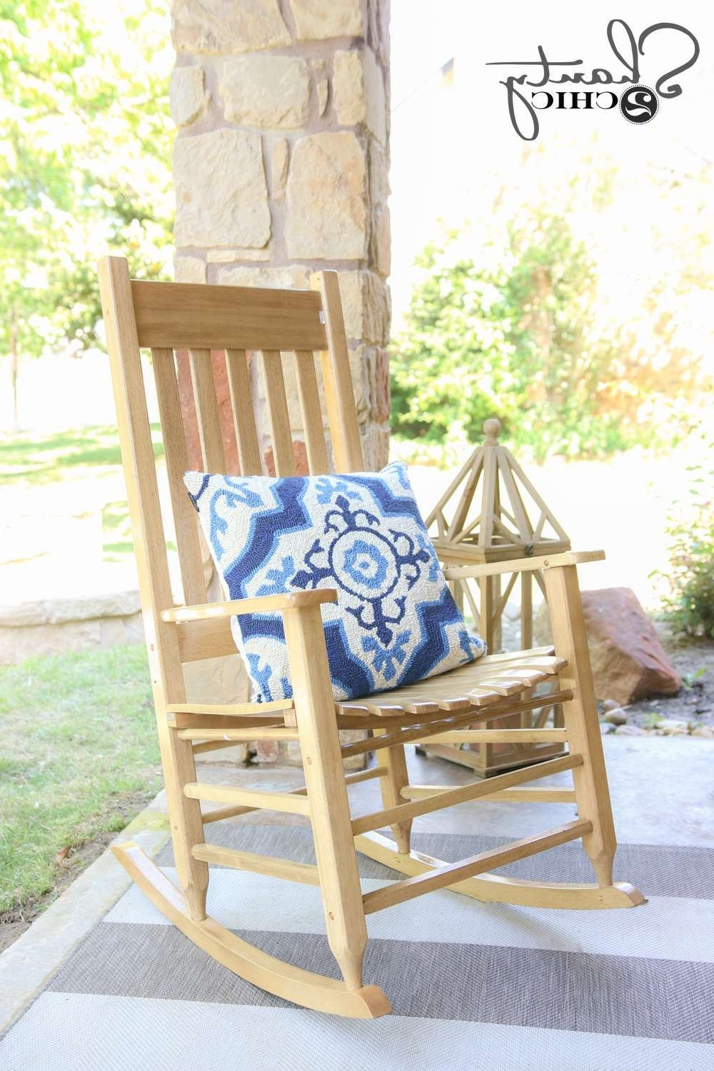 Wayfair Rocking Chair Luxury Wayfair Back Patio Makeover Shanty 2 Intended For Widely Used Rocking Chairs At Wayfair (View 16 of 20)