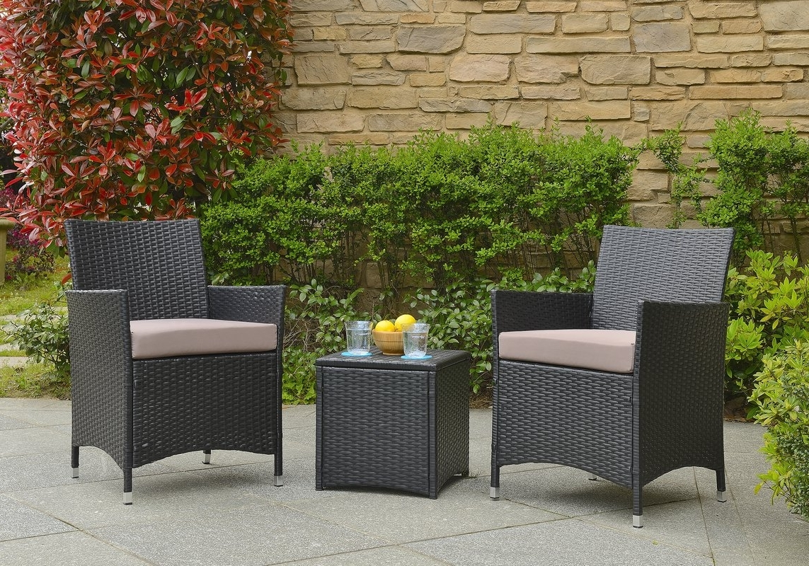 Wayfair Within Wayfair Outdoor Patio Conversation Sets (View 19 of 20)