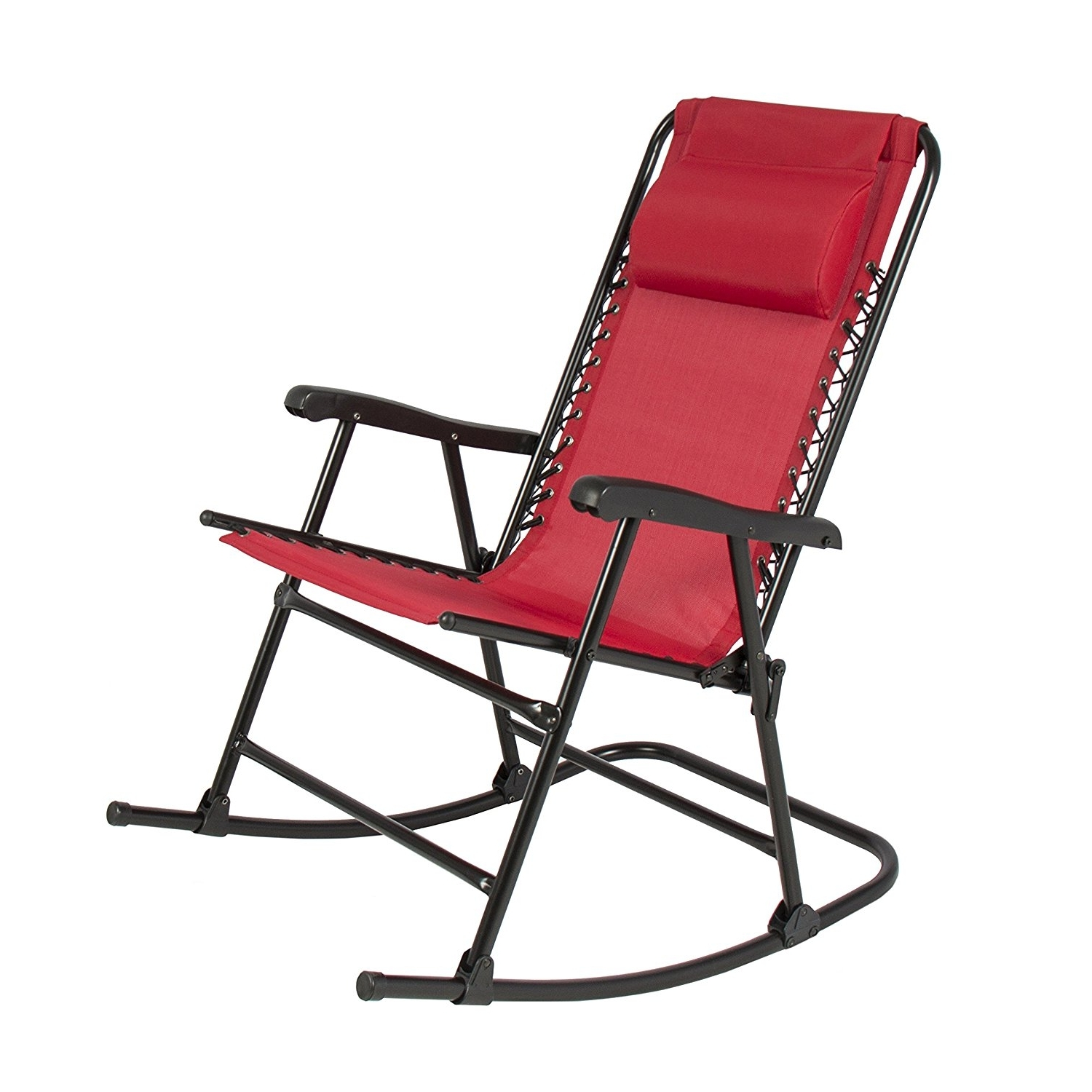 Well Known 3 Best Foldable Outdoor Rocking Chairs Available On Amazon – Nursery Throughout Padded Patio Rocking Chairs (View 16 of 20)