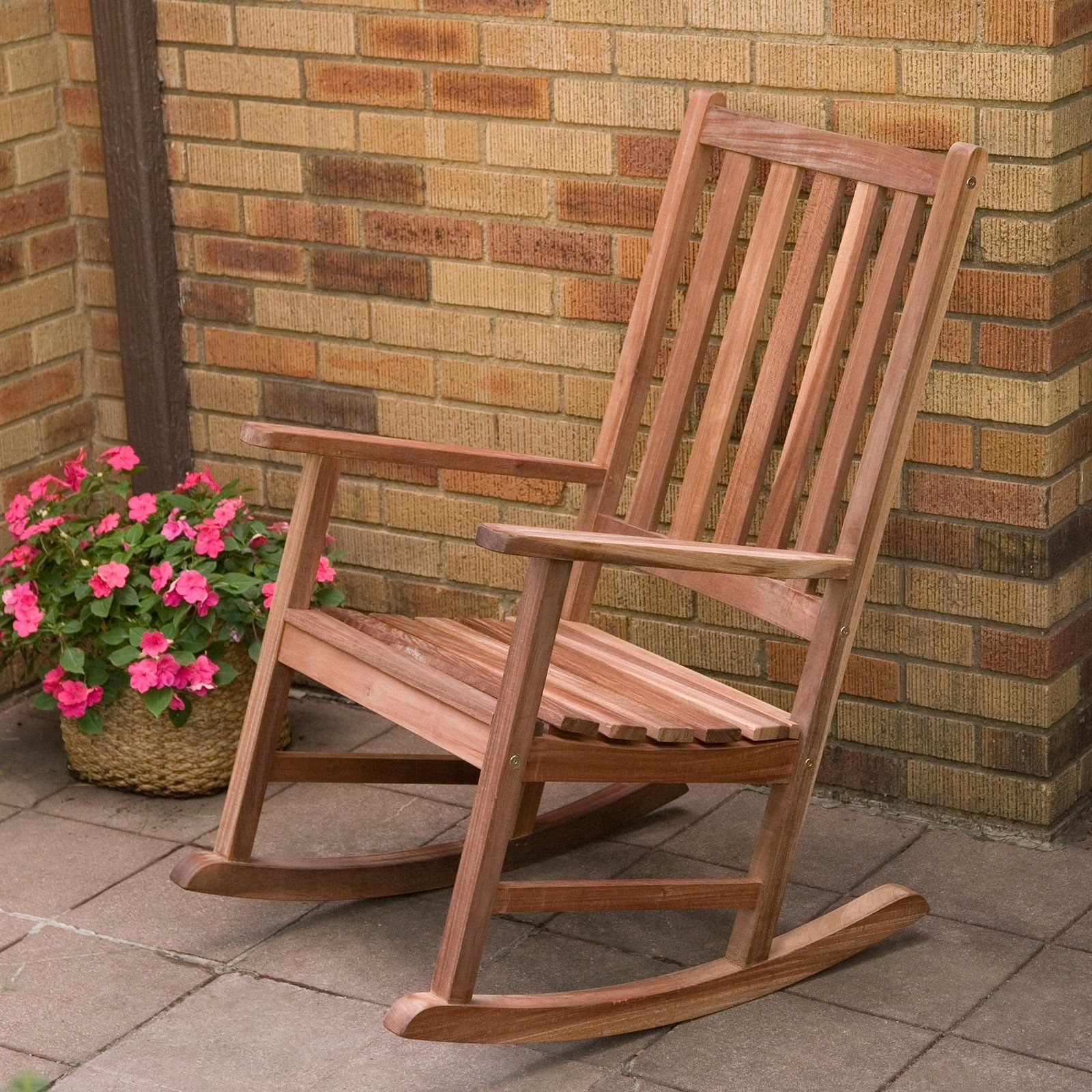 Well Known Brown Wicker Patio Rocking Chairs In Have To Have It (View 13 of 20)