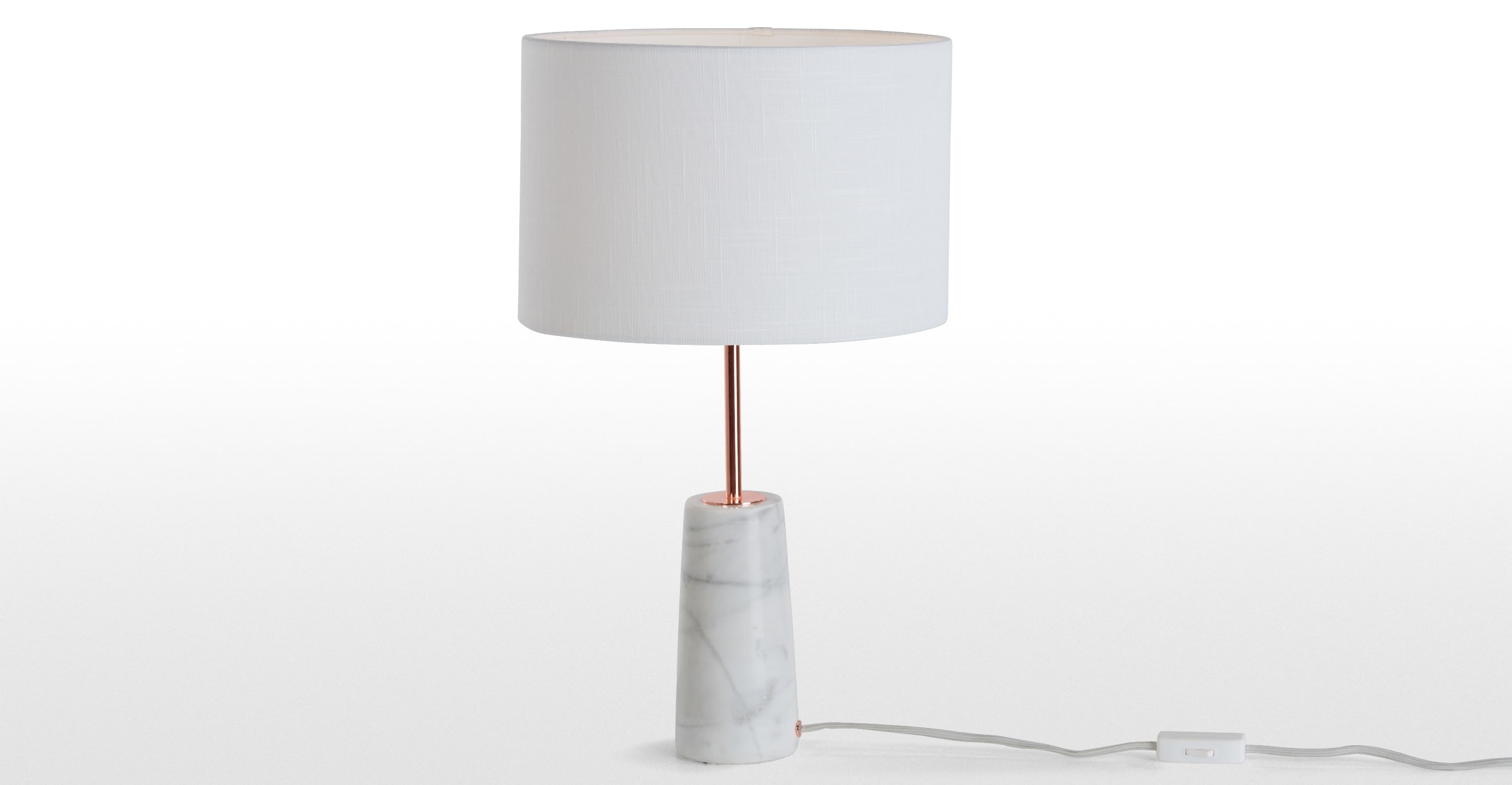 Well Known Living Room Table Lamps At Target With Regard To Genuine Target Table Lamps Ely Brass Stripe White Marble Cone Lamp (View 20 of 20)