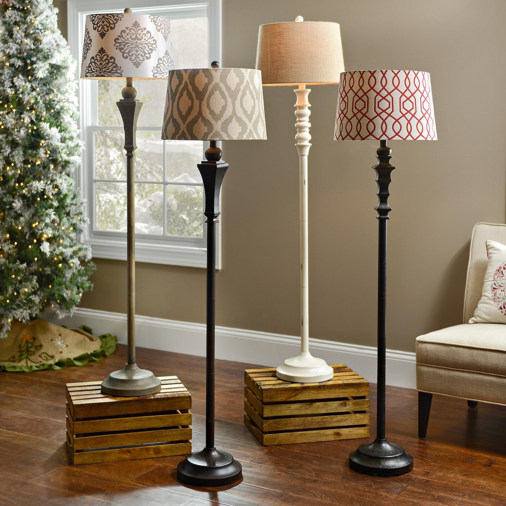 Well Known Living Room Table Lamps Pertaining To Add Light To A Dim Corner With A Stylish Floor Lamp! (View 14 of 20)