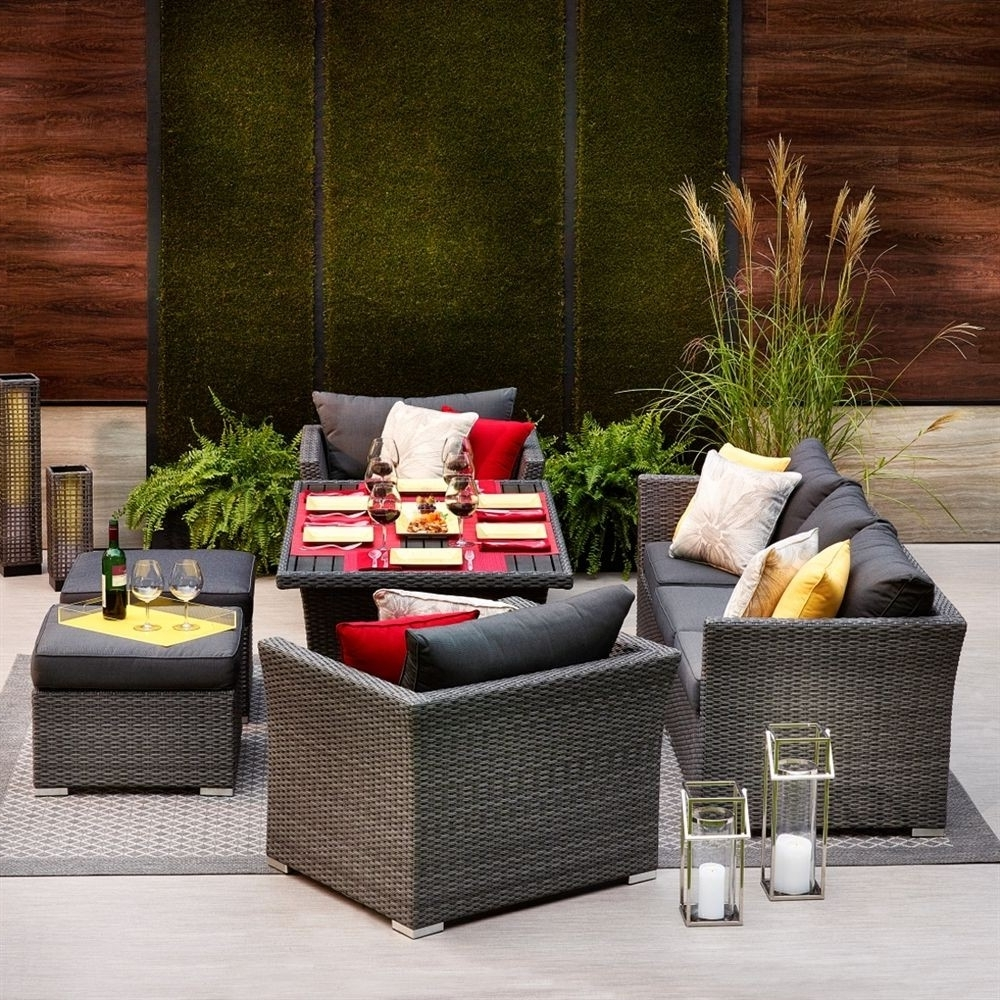 Well Known Lowes Patio Furniture Conversation Sets With Classy Lowes Patio Chair Cushions Quirky Shop Allen Roth Prescott  (View 11 of 20)