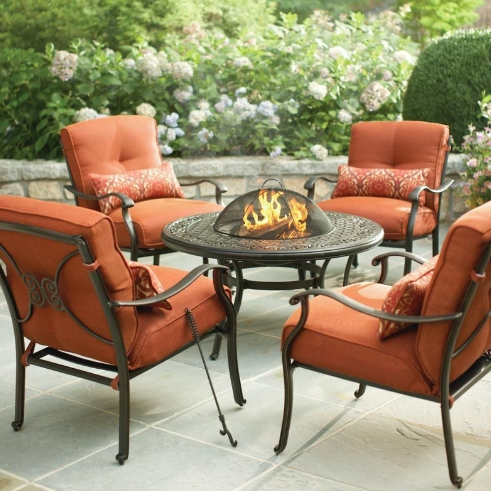 Well Known Martha Stewart Living Cold Spring 5 Piece Patio Fire Pit Set With With Regard To Martha Stewart Conversation Patio Sets (View 20 of 20)