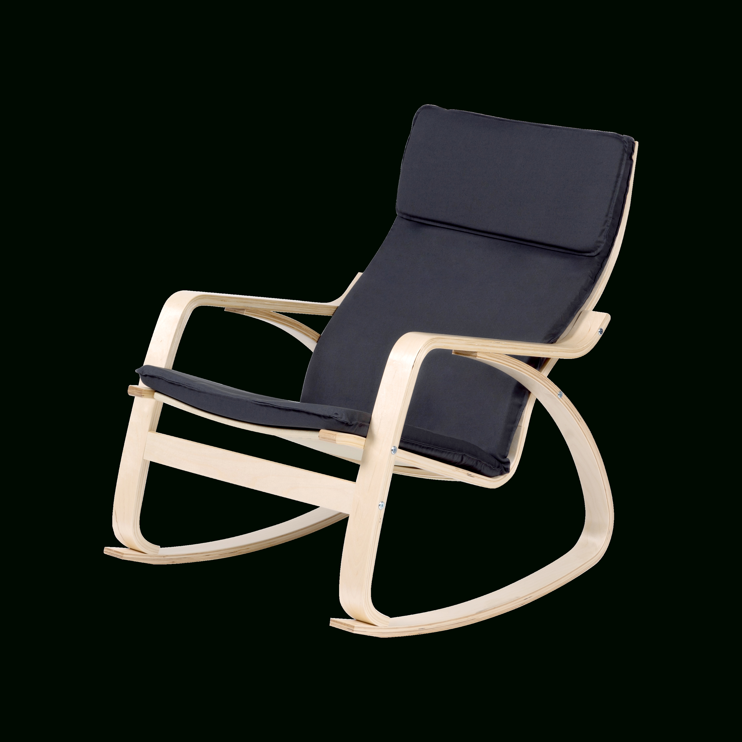 Well Known Mizuki Rocking Chair – Dark Grey – Assembly Inclusive – Rely In Zen Rocking Chairs (View 13 of 20)
