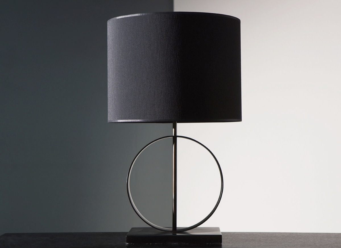 Well Known Modern Table Lamps For Living Room Regarding Contemporary Table Lamps Living Room With Amazing Modern Lamp On (View 18 of 20)
