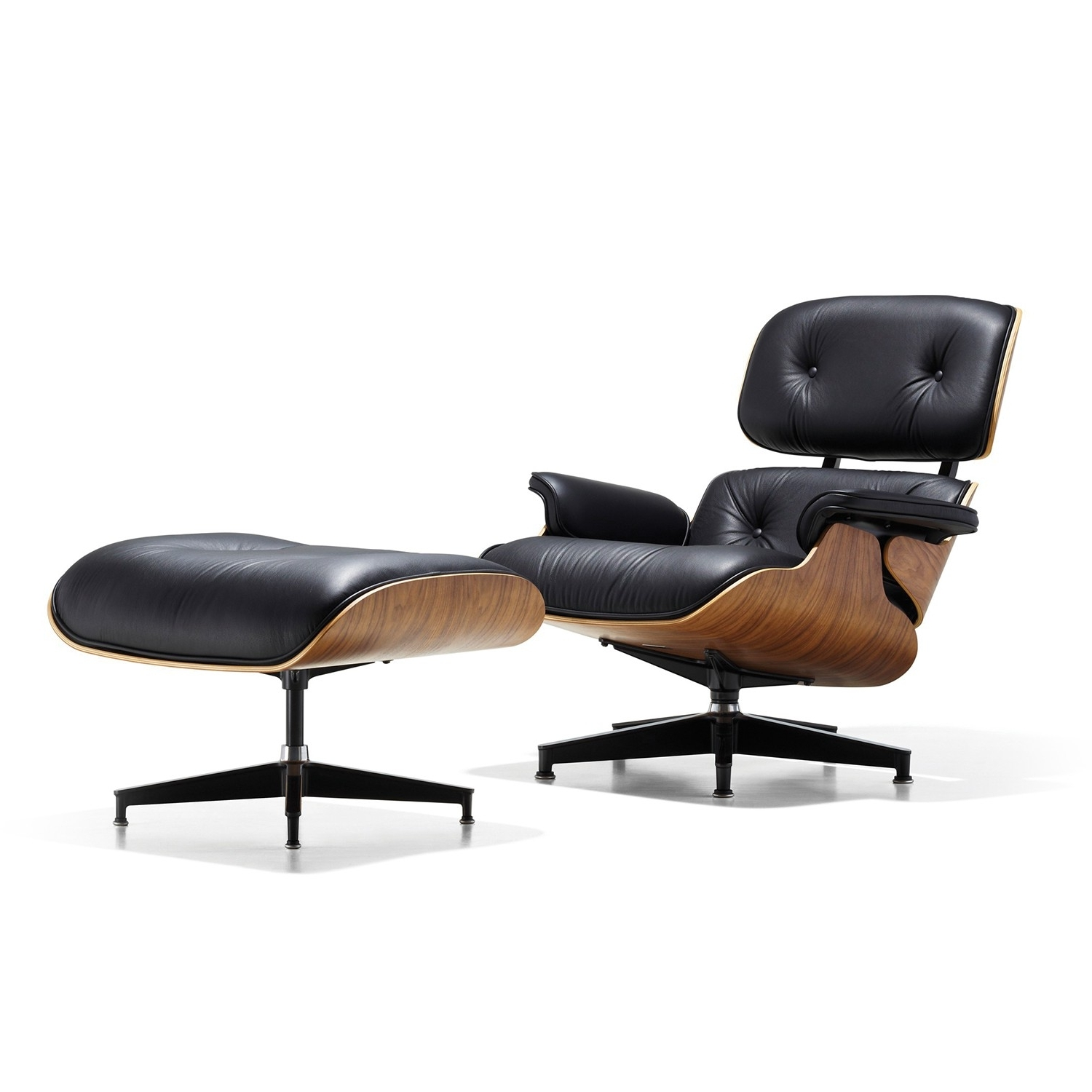 Well Known Ottoman : Herman Miller Lounge Seating Charles Eames Rocking Chair Intended For Rocking Chairs With Footstool (View 17 of 20)