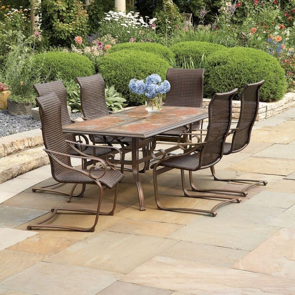 Well Known Patio Conversation Sets At Lowes Intended For Attractive Lowes Conversation Sets 28 Patio Furniture Cushions (View 17 of 20)