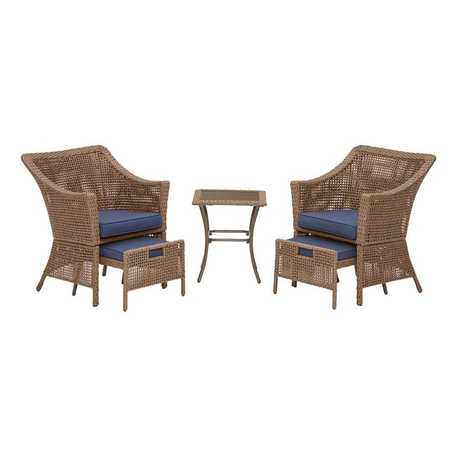 Well Known Patio Conversation Sets Under $400 With Regard To Shop Patio Furniture Sets At Lowes (View 20 of 20)