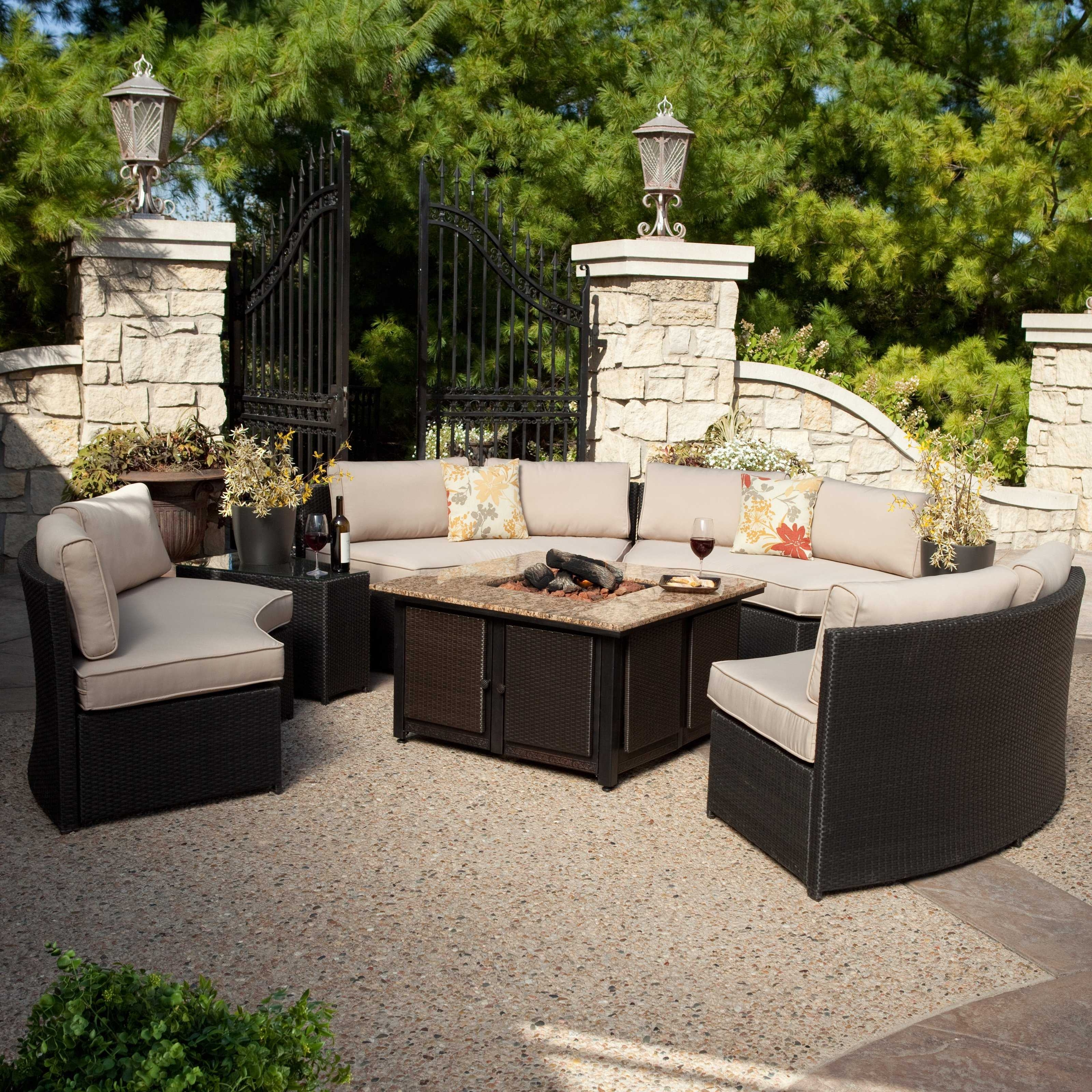 Well Known Patio Conversation Sets With Gas Fire Pit Regarding Revolutionary Gas Fire Pit Conversation Set Unlimited Best Of Patio (View 19 of 20)