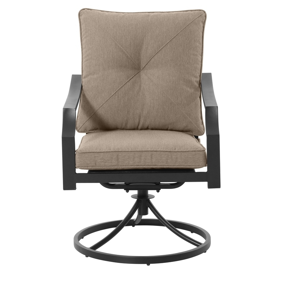 Well Known Patio Rocking Swivel Chairs Throughout Shop Patio Chairs At Lowes (View 8 of 20)