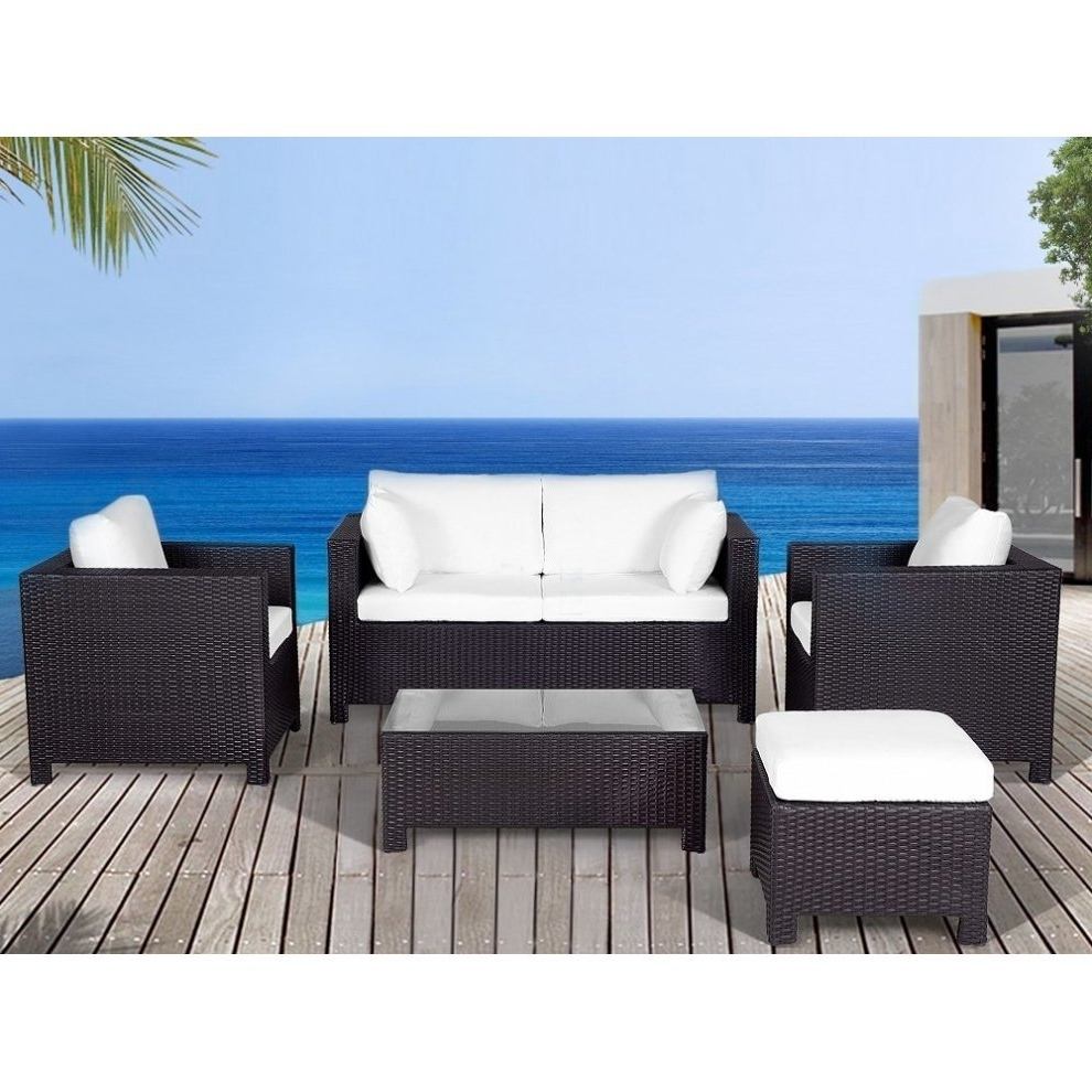 Well Known Resin Conversation Patio Sets Inside Resin Wicker Conversation Set – Outdoor Sofa Patio Furniture (View 18 of 20)