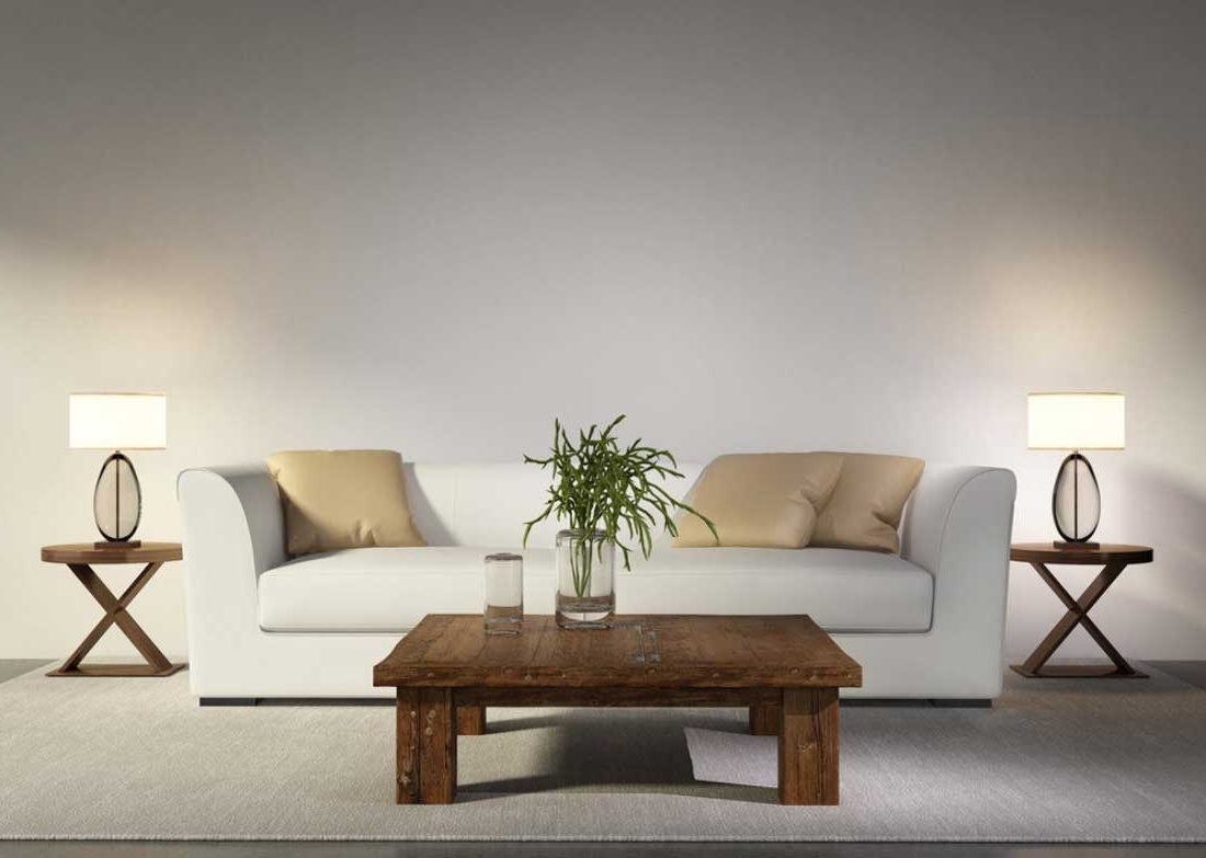 Well Known Two Table Lamps For Living Room — S3Cparis Lamps Design : Cozy And Regarding White Living Room Table Lamps (View 15 of 20)