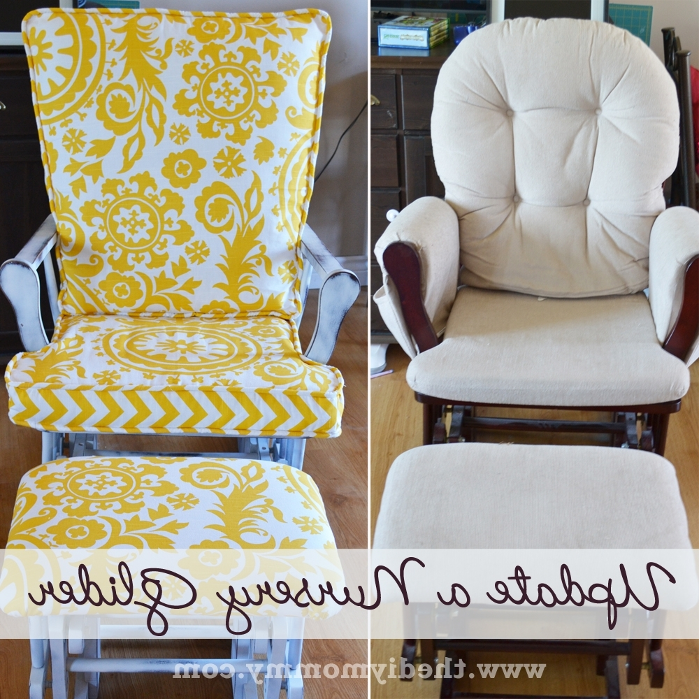 Well Known Upcycled Rocking Chairs Inside Update A Nursery Glider Rocking Chair (View 19 of 20)