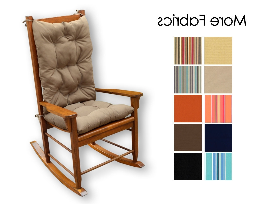 Well Known Valuable Padded Rocker Chair For Your Furniture Chairs With With Padded Patio Rocking Chairs (View 12 of 20)
