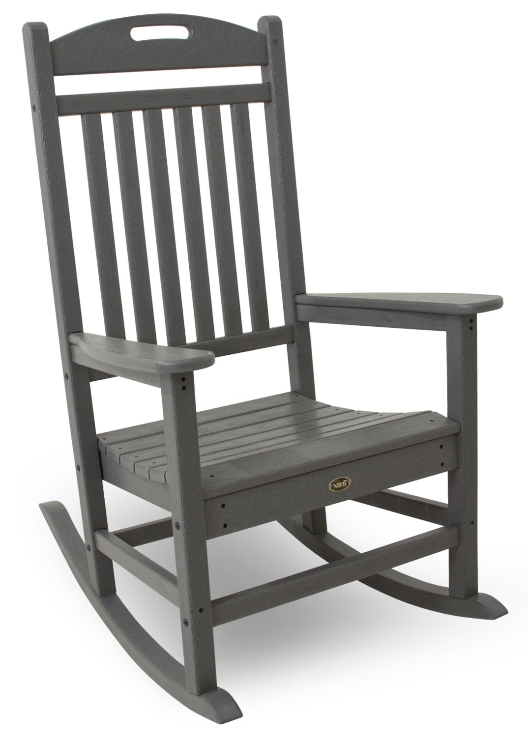 Well Known White Patio Rocking Chairs For Yacht Club Rocking Chair (View 15 of 20)