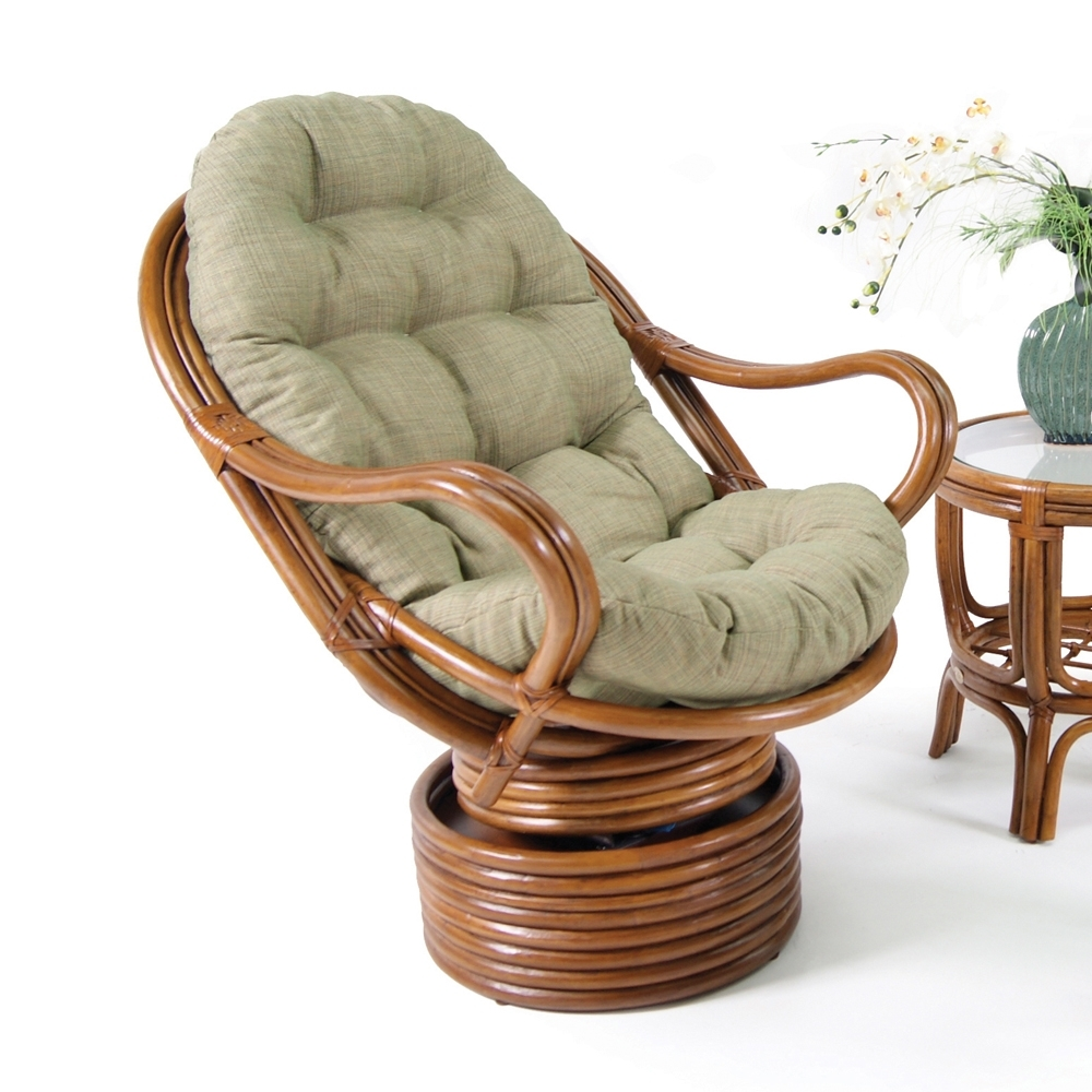 Well Known Wicker Rocking Chairs With Cushions Throughout Cushion : Wicker Patio Furniture Cushions Dsc Rattan Dining Chair (View 4 of 20)