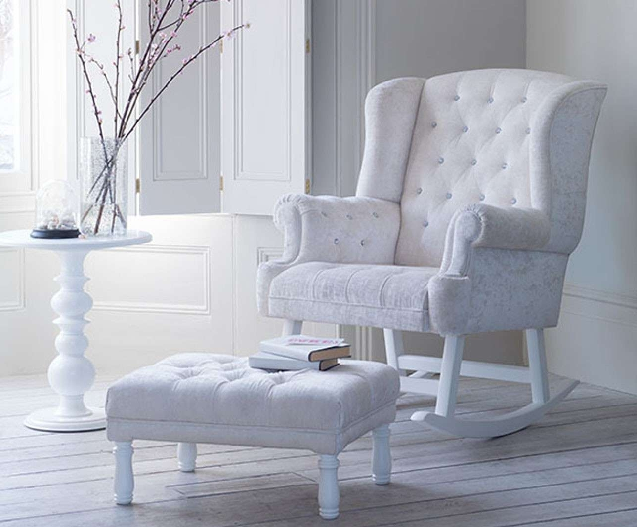 Well Known Wooden Rocking Chair For Nursery Beautiful Bambizi Luxury Nursing Within Rocking Chairs For Nursing (Gallery 3 of 20)