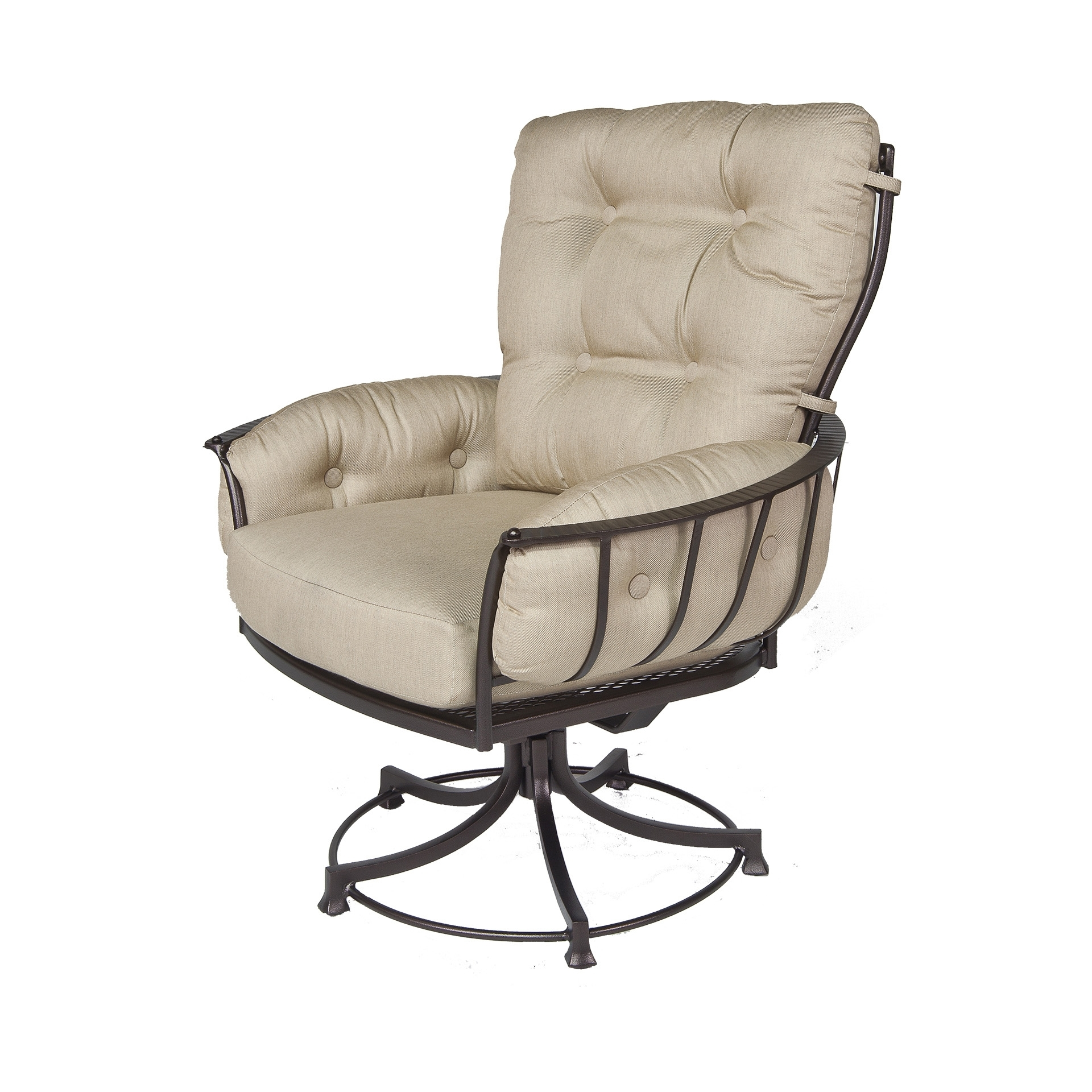 Well Liked Club Swivel Rocker Dining Arm Chair (View 6 of 20)