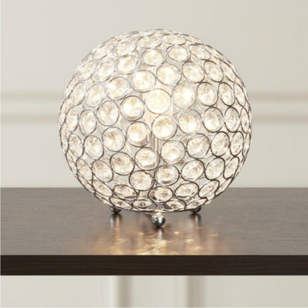Well Liked Lamp : Modern Luxury Crystal Sphere Table Lamp For Living Room Home For Luxury Living Room Table Lamps (View 20 of 20)