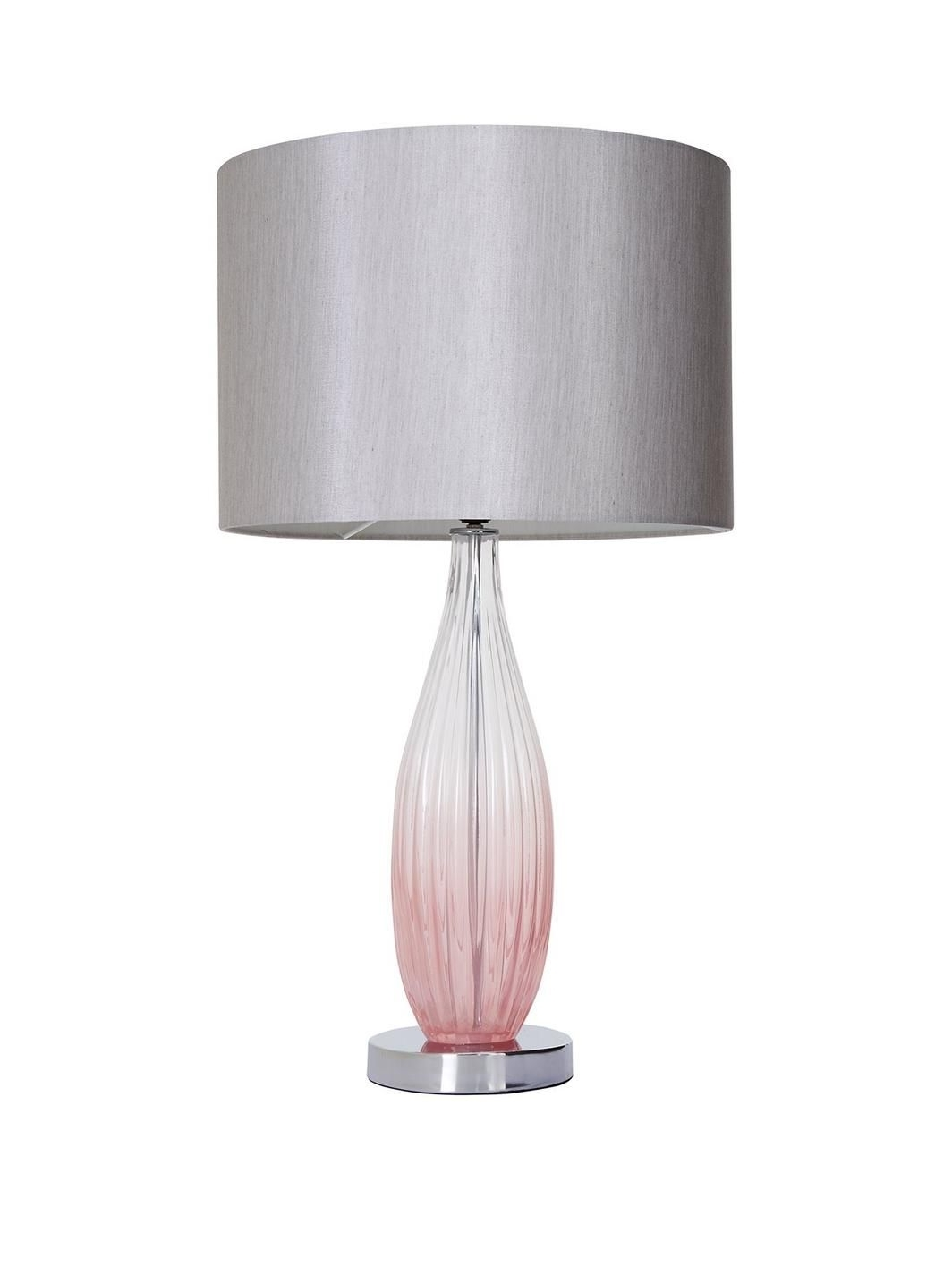 Well Liked Michelle Keegan Home Pink Ombre Glass Table Lamp (View 16 of 20)