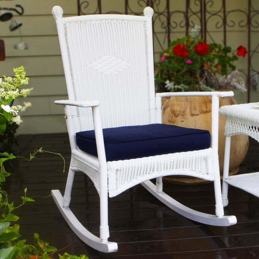 Well Liked Rocking Chair Cushions For Outdoor Intended For Outdoor Rocking Chair Cushions Designs : Sathoud Decors – Outdoor (View 19 of 20)
