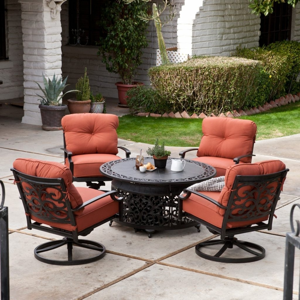 Well Liked Sears Patio Furniture Conversation Sets Inside Ultimate Sears Fire Pit Survival Gas Conversation Set Belham Living (View 10 of 20)