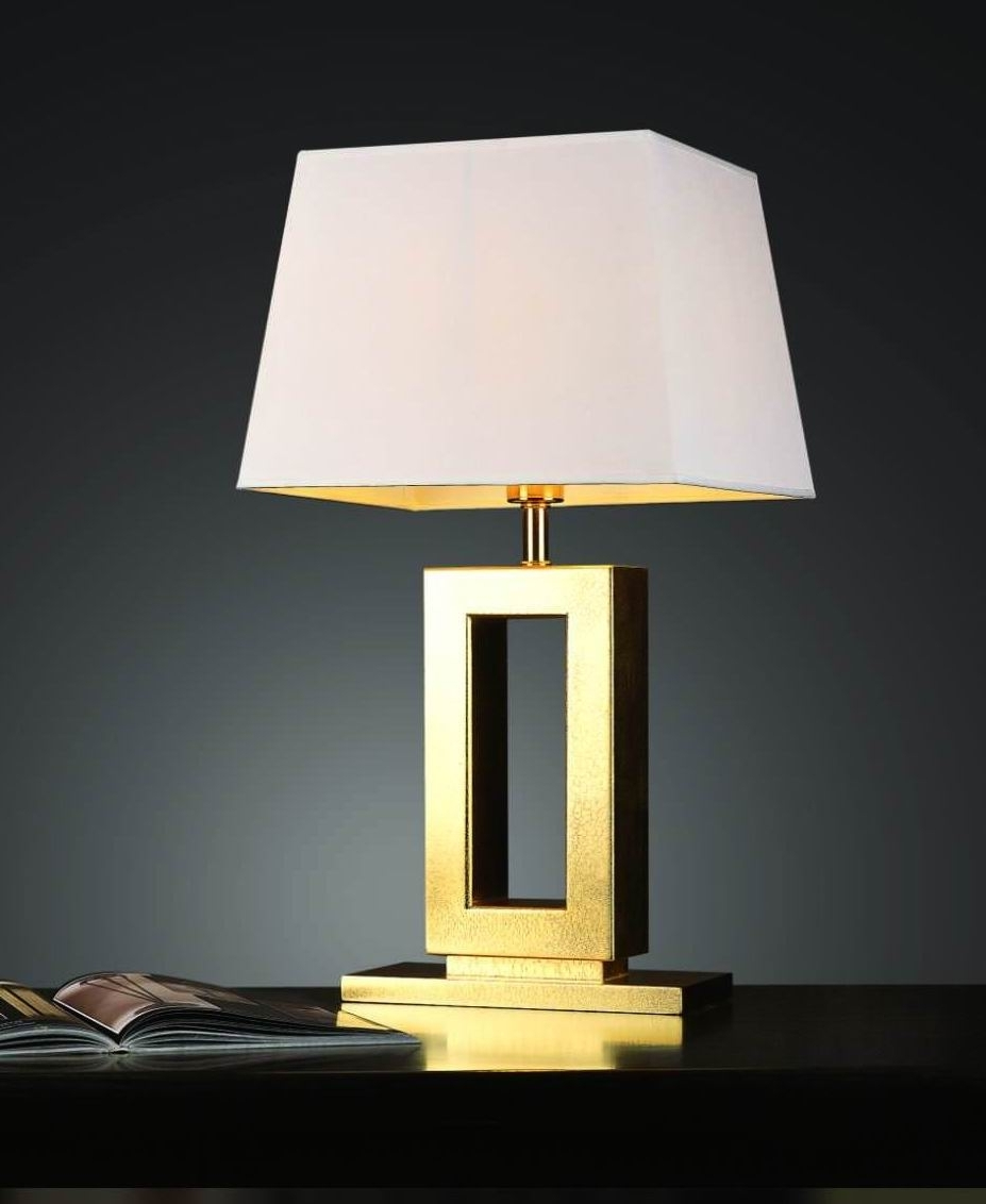 Well Liked Top 57 Superb Small Bedside Lamps Modern Table For Bedroom Gold Lamp Intended For Gold Living Room Table Lamps (View 11 of 20)