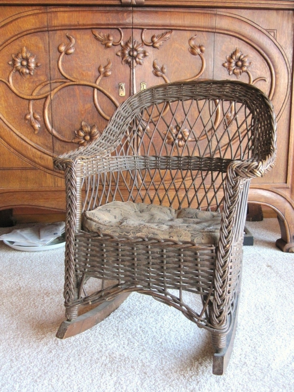 Featured Photo of Vintage Wicker Rocking Chairs