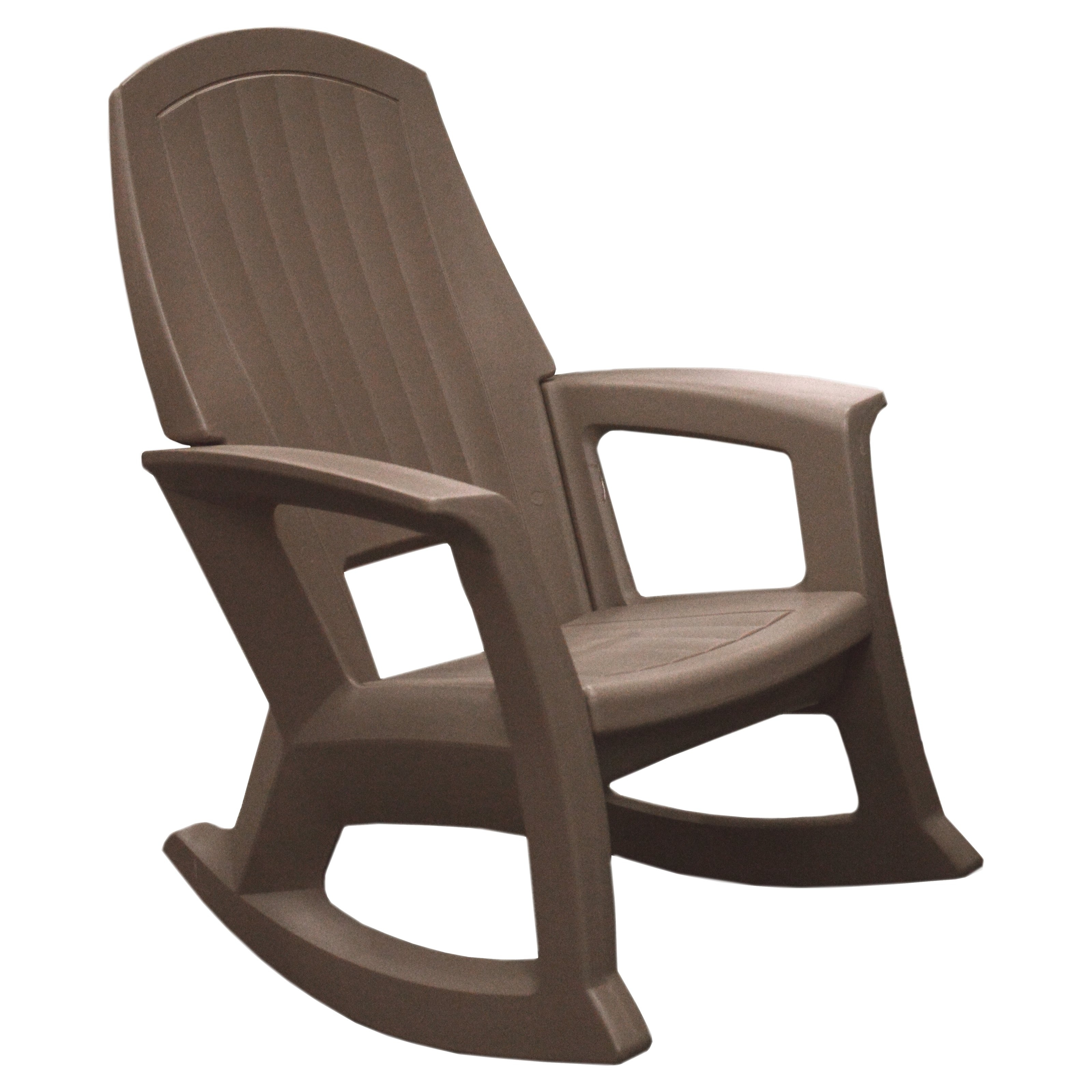 Well Liked White Resin Patio Rocking Chairs Throughout Semco Outdoor Patio Resin Rocking Chair – Outdoor Designs (View 9 of 20)
