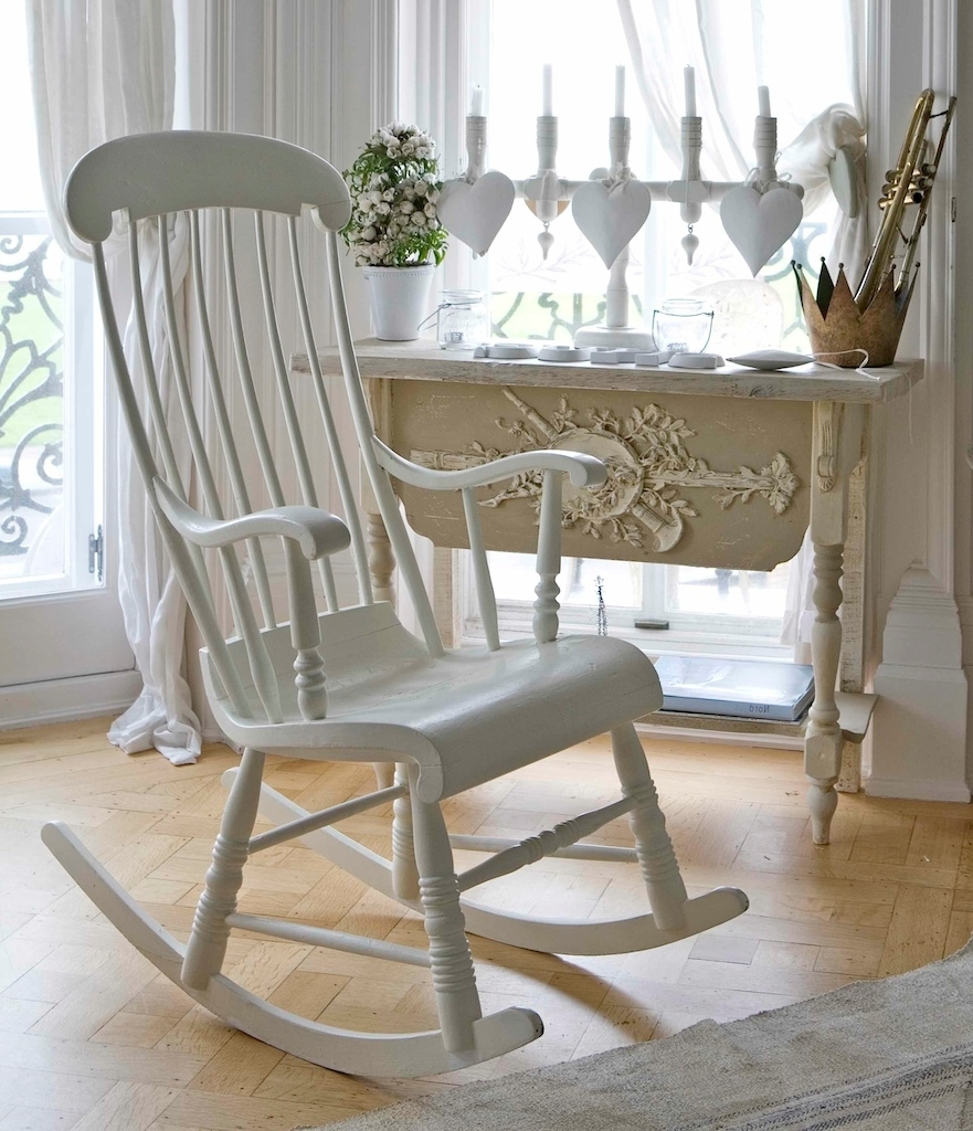 Well Liked White Wicker Rocking Chair For Nursery Regarding Wicker Rocking Chair Nursery Ideas : Best Furniture Decor – All (View 7 of 20)