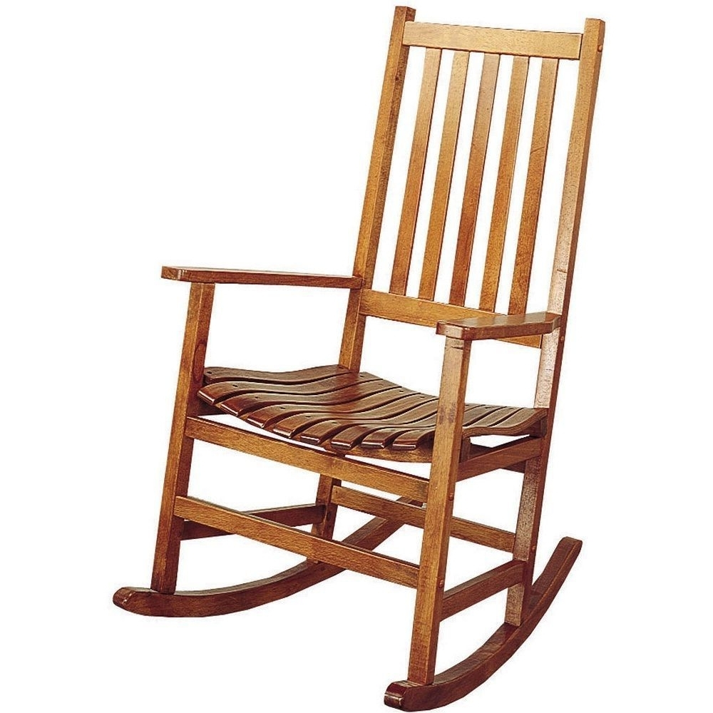 Well Liked Wooden Rocking Chair Outdoor Rocker Vintage Patio Antique Seat Porch With Vintage Outdoor Rocking Chairs (View 19 of 20)