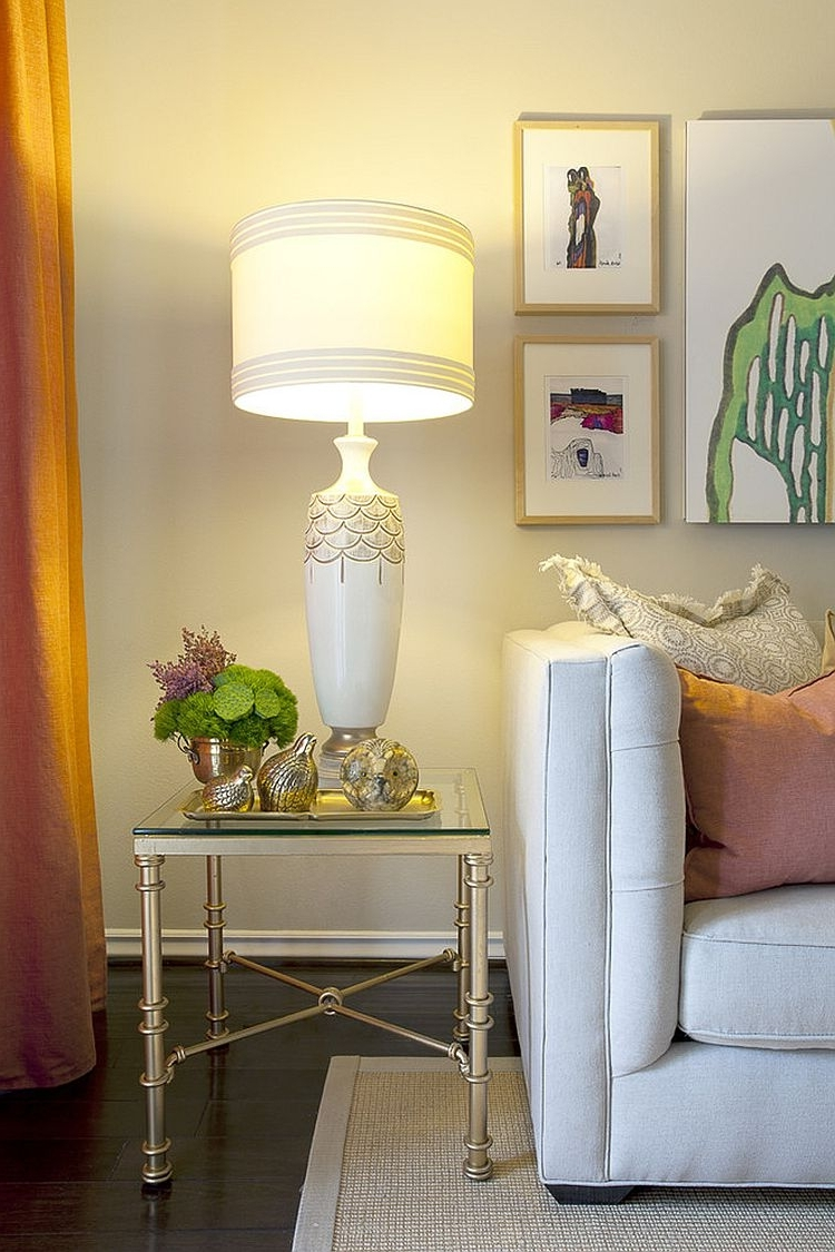 White Living Room Table Lamps Inside Preferred Glass Table Lamps For Living Room Inspirational Table Lamps Kitchen (View 16 of 20)