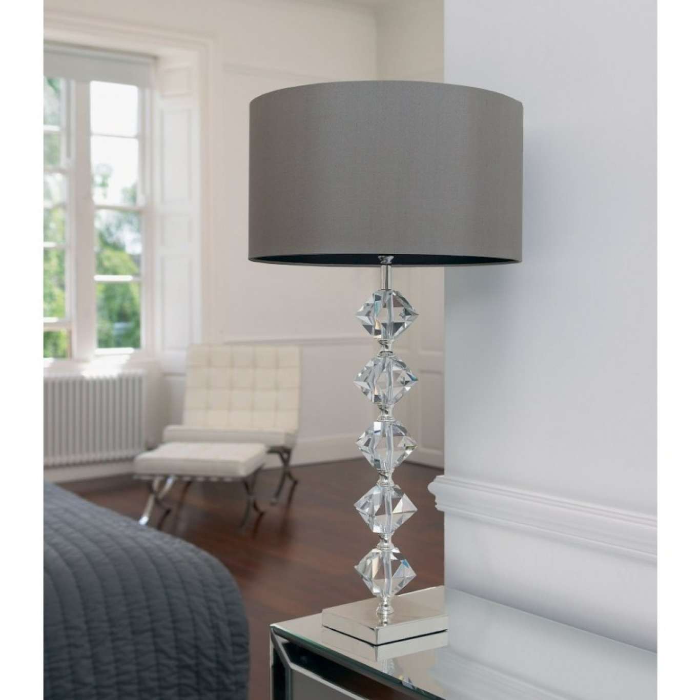 White Living Room Table Lamps Within Favorite Amusing Modern Table Lamps For Living Room 7 Interior Furniture (View 20 of 20)