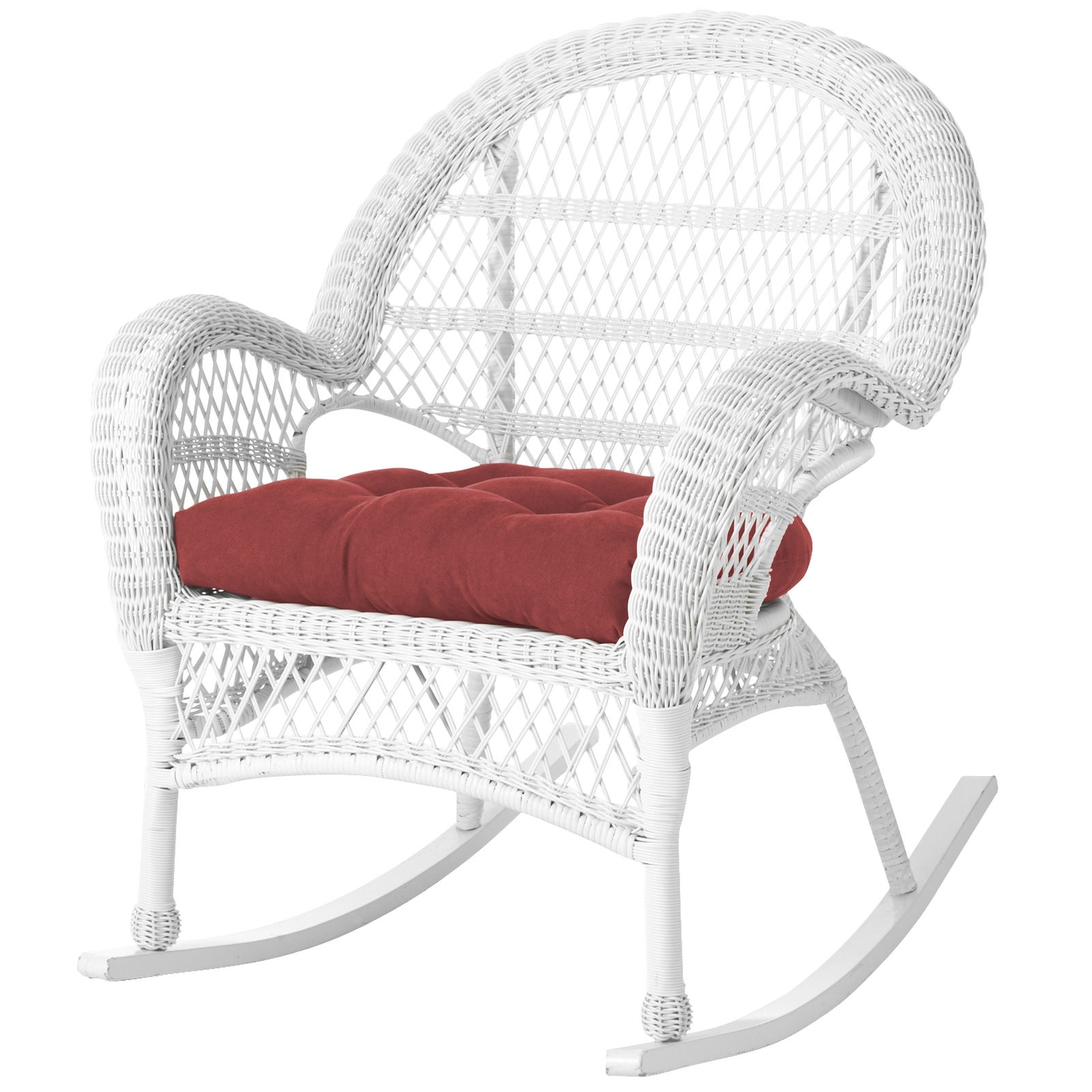White Wicker Rocking Chairs With Most Recent White Wicker Rocking Chair Peachy Ideas – Chair Ideas (View 8 of 20)