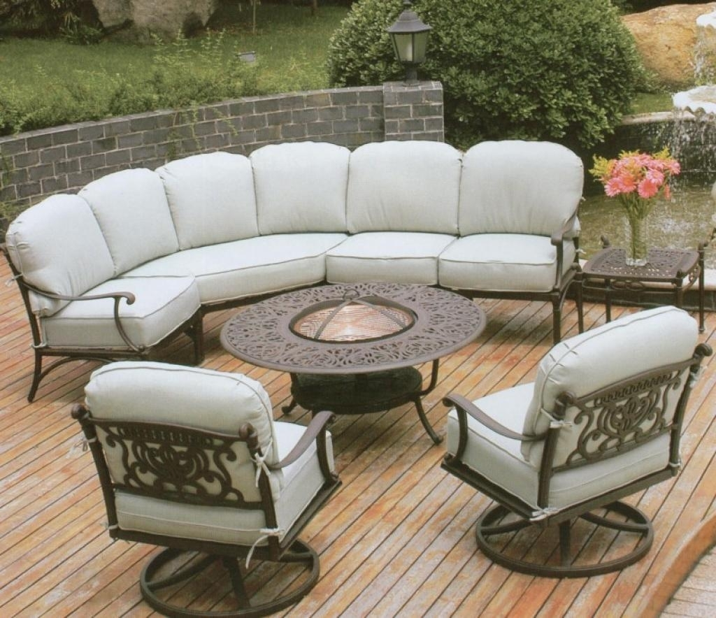 White Wrought Iron Garden Furniture Delighful Garden Furniture With Regard To Most Up To Date Wrought Iron Patio Conversation Sets (View 16 of 20)