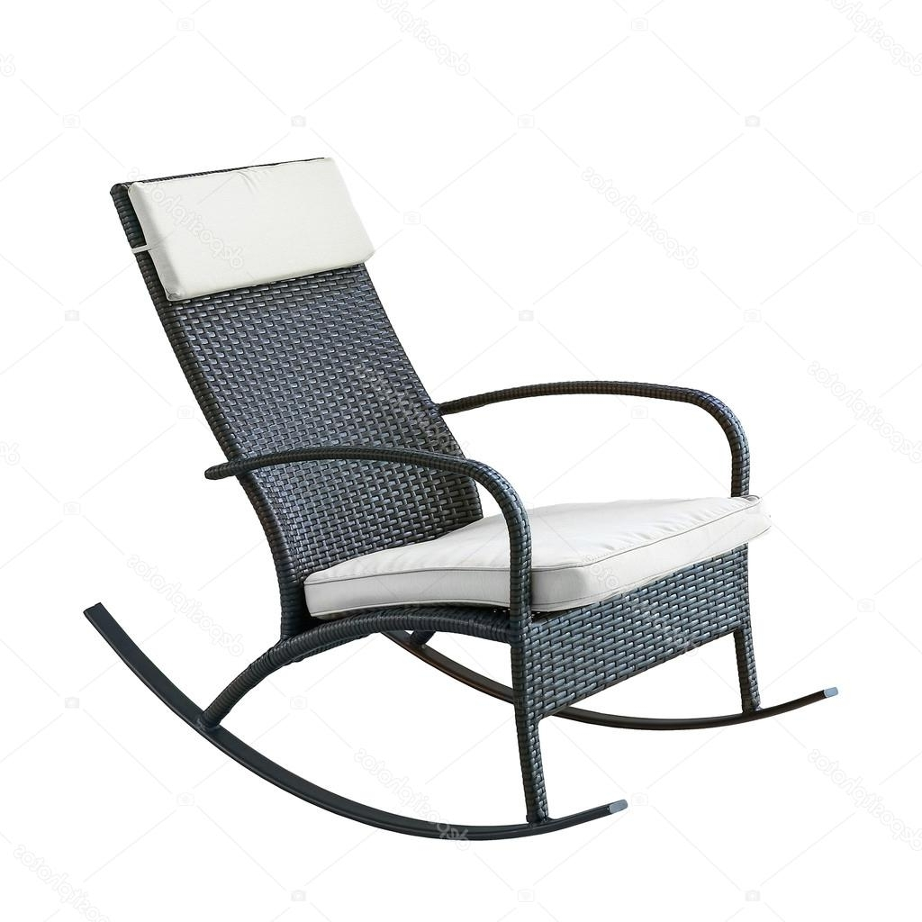 Wicker Chair Gliders Furniture Plastic Wicker Rocking Chair (View 12 of 20)
