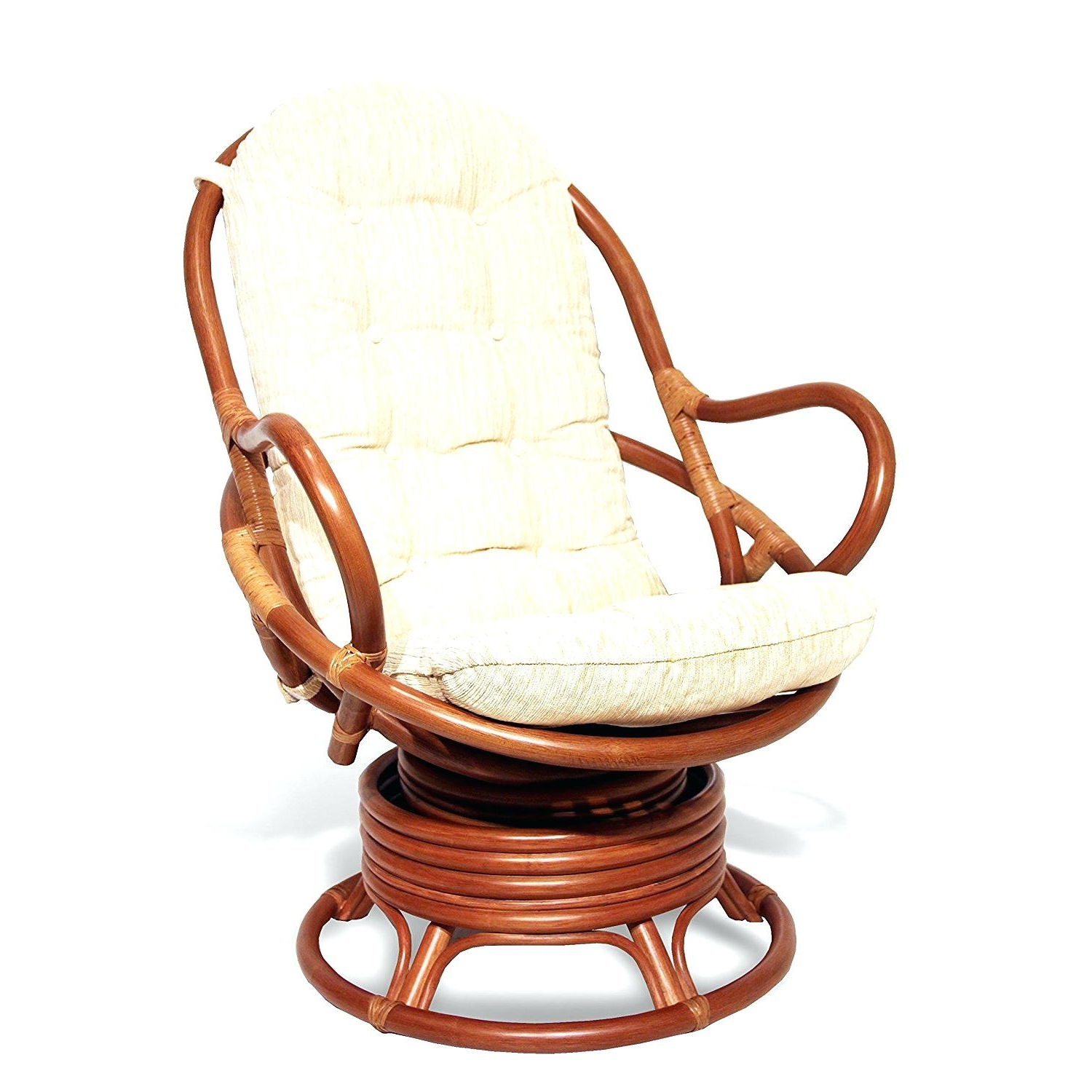 Wicker Rocking Chairs With Cushions Throughout Trendy Cushion : Wicker Rocking Chair Followfirefish Com Cushions Cushion (View 19 of 20)