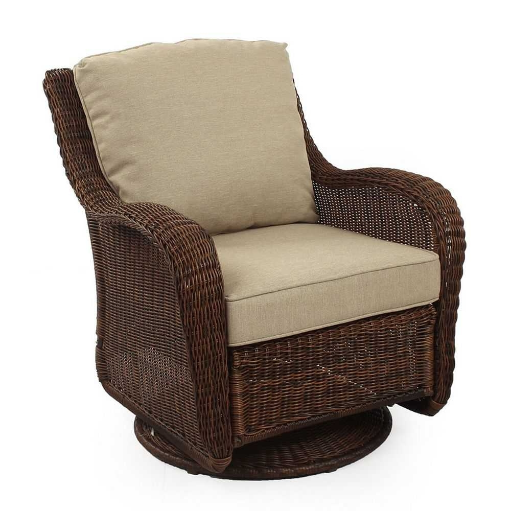 Wicker Swivel Rocker Patio Chairs – Interperform Pertaining To Favorite Patio Rocking Swivel Chairs (View 13 of 20)