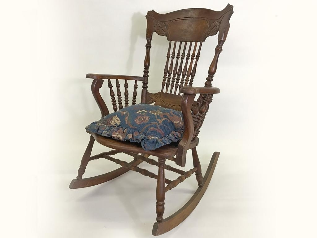 Widely Used Fall Auction – Antique Rocking Chair (View 20 of 20)