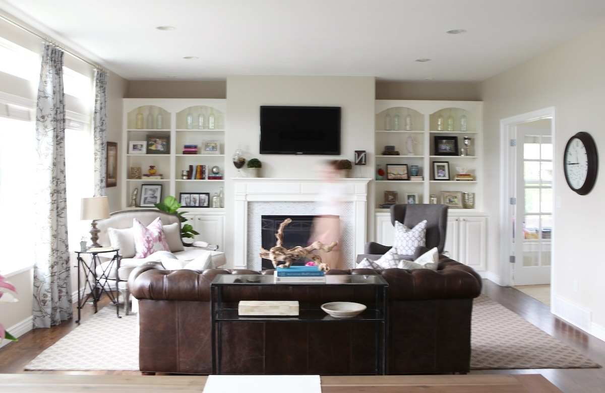 Widely Used Family Friendly Living Room Throughout Pottery Barn Table Lamps For Living Room (View 14 of 20)