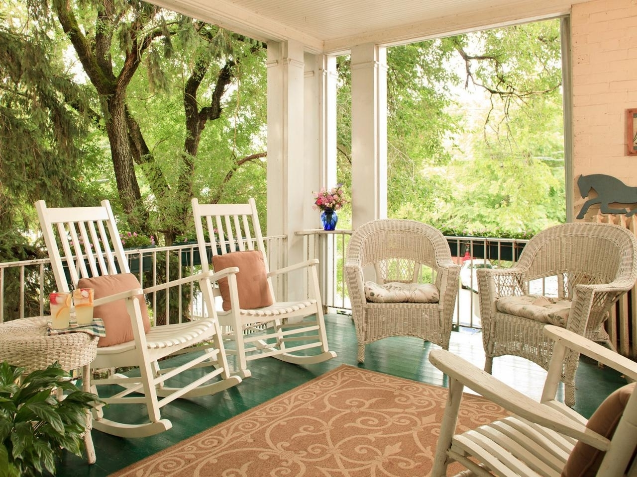 Widely Used Front Porch Rocking Chairs For Decoration Karenefoley Porch Ever Within Rocking Chairs For Front Porch (View 14 of 20)